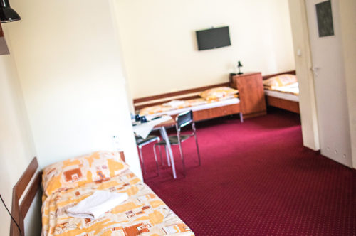 Standard four person room with en-suite bathroom**